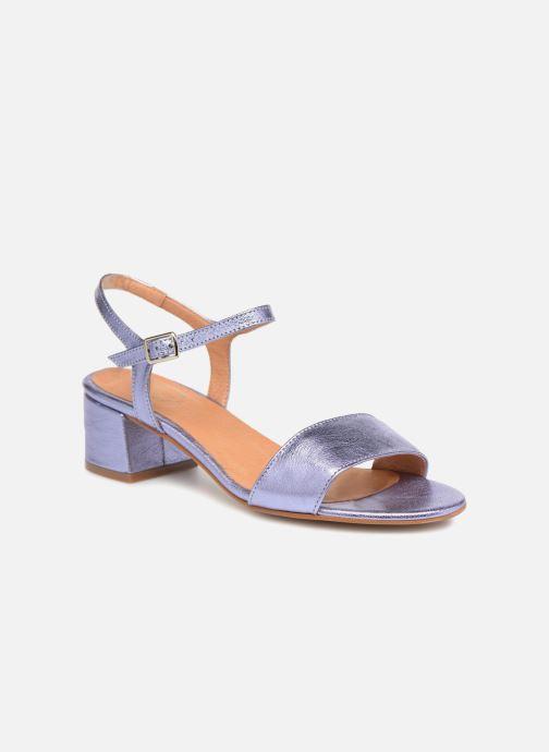 Sandales et nu-pieds Apologie SANDALIA PIERRE Violet vue détail/paire