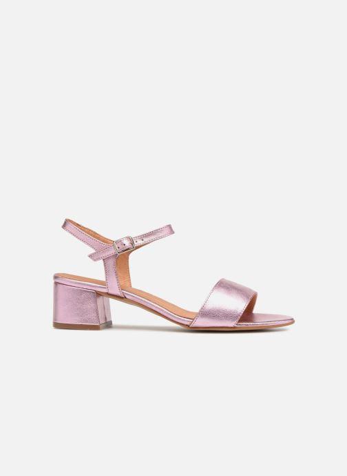 Sandales et nu-pieds Apologie SANDALIA PIERRE Rose vue derrière