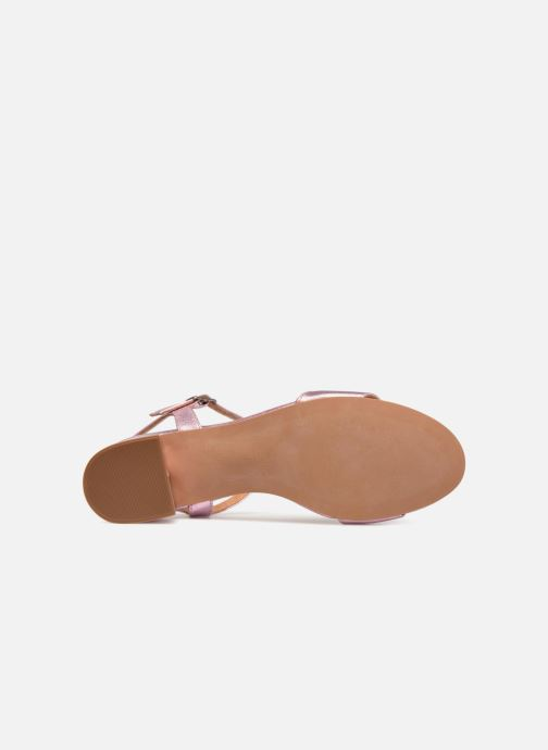 Sandales et nu-pieds Apologie SANDALIA PIERRE Rose vue haut