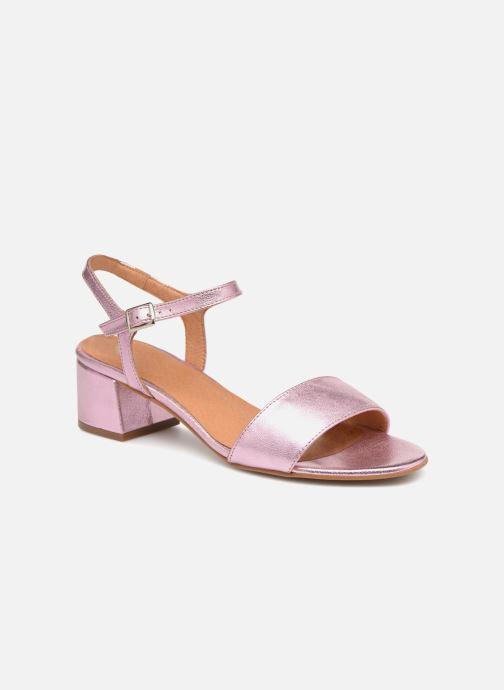 Sandales et nu-pieds Apologie SANDALIA PIERRE Rose vue détail/paire