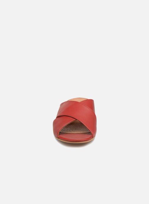 Clogs & Pantoletten Apologie AZAHAR rot schuhe getragen
