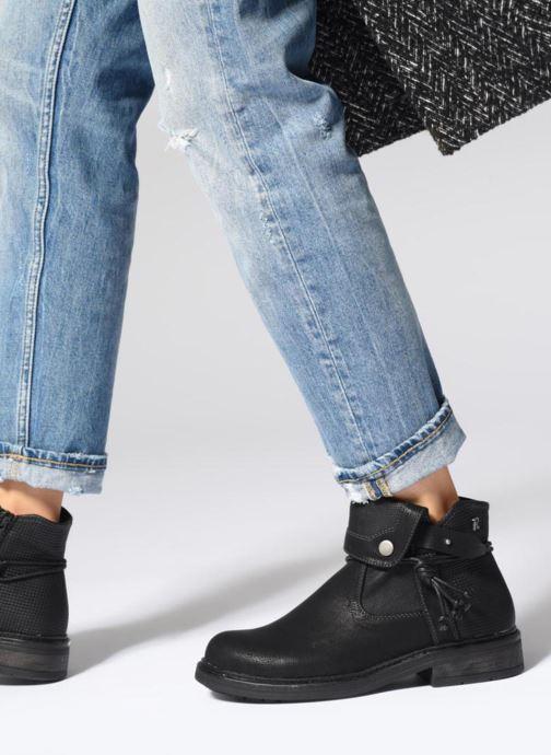 Stiefeletten & Boots Refresh 64759 schwarz ansicht von unten / tasche getragen