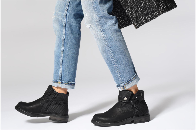 Bottines et boots Refresh 64759 Noir vue bas / vue portée sac