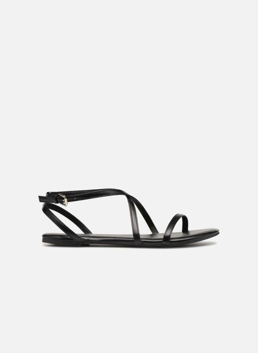 Sandales et nu-pieds Pieces DOCIA STRAP SANDAL Noir vue derrière