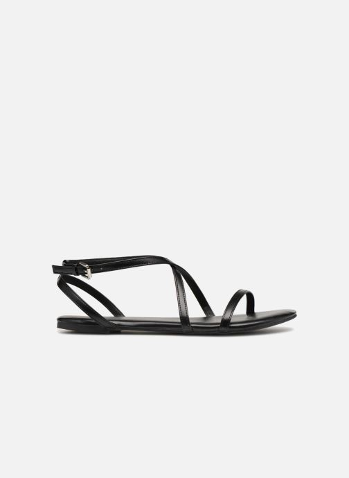 Sandalias Pieces DOCIA STRAP SANDAL Negro vistra trasera