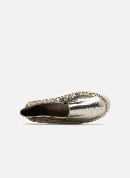 Espadrilles Pieces HAISHA METALLIC ESPERDRILLE Zilver links