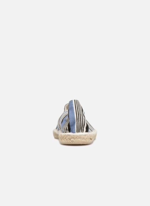 Espadrilles Pieces HAISHA STRIPE ESPERDRILLE Bleu vue droite