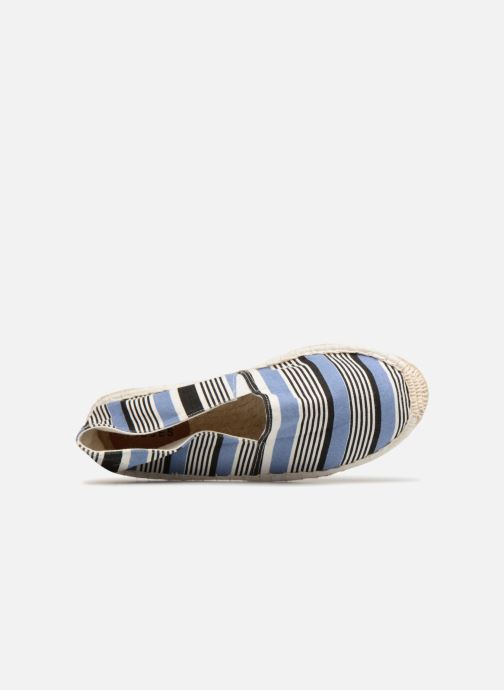 Espadrilles Pieces HAISHA STRIPE ESPERDRILLE Blauw links