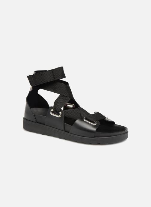Mariella Leather Leather Black Sandal Pieces Mariella Pieces Mariella Black Pieces Sandal dQshxBotrC