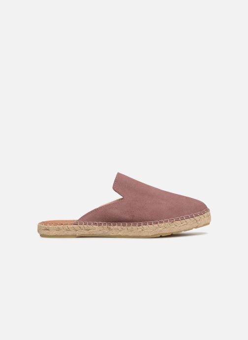 Wedges Pieces MOLIN SUEDE ESPADRILLE MULE Paars achterkant