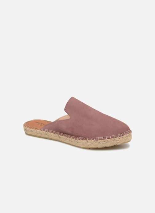 Wedges Pieces MOLIN SUEDE ESPADRILLE MULE Paars detail