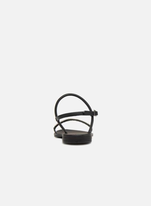 Sandales et nu-pieds Pieces MIYA LEATHER SANDAL Noir vue droite