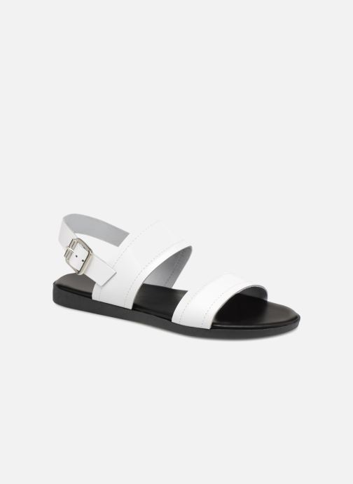Sandalias Pieces PENELOPE LEATHER SANDAL Blanco vista de detalle / par