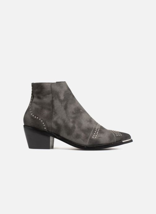 Botines  Pieces PENNIE BOOT RAVEN Gris vistra trasera