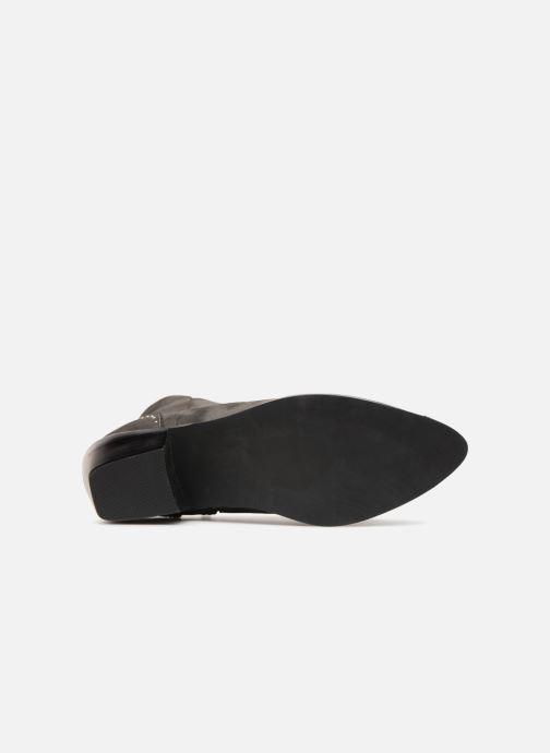 Stiefeletten & Boots Pieces PENNIE BOOT RAVEN grau ansicht von oben