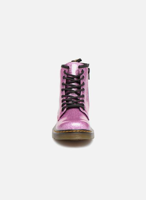 Stiefeletten & Boots Dr. Martens 1460 Glitter J lila schuhe getragen