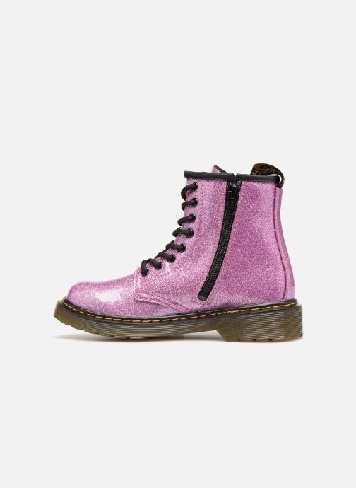 Stiefeletten & Boots Dr. Martens 1460 Glitter J lila ansicht von vorne