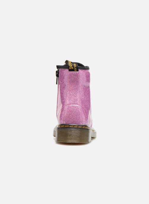 Stiefeletten & Boots Dr. Martens 1460 Glitter J lila ansicht von rechts