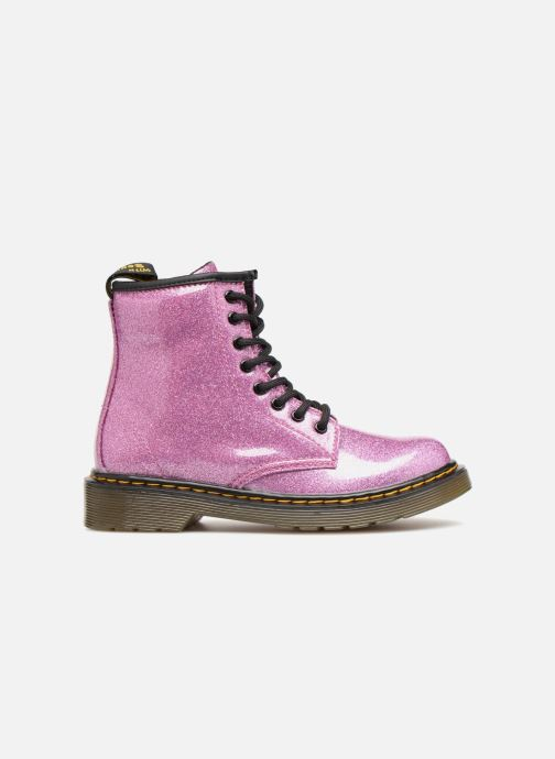 Stiefeletten & Boots Dr. Martens 1460 Glitter J lila ansicht von hinten