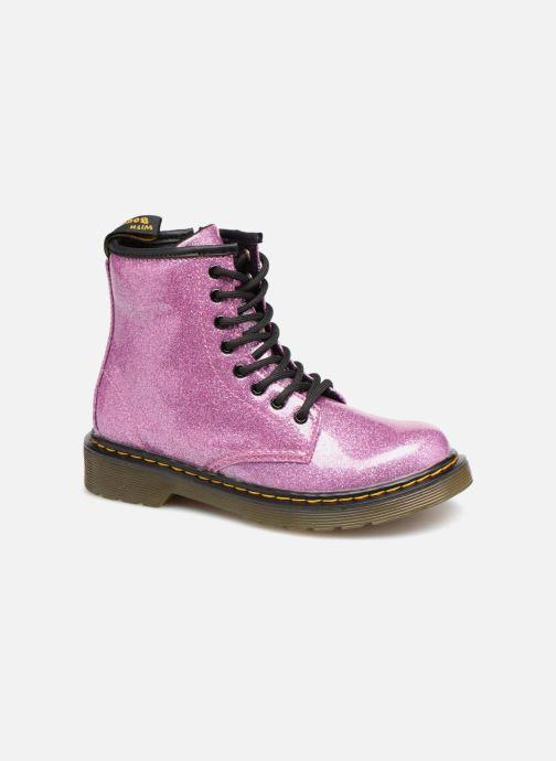 Stiefeletten & Boots Dr. Martens 1460 Glitter J lila detaillierte ansicht/modell