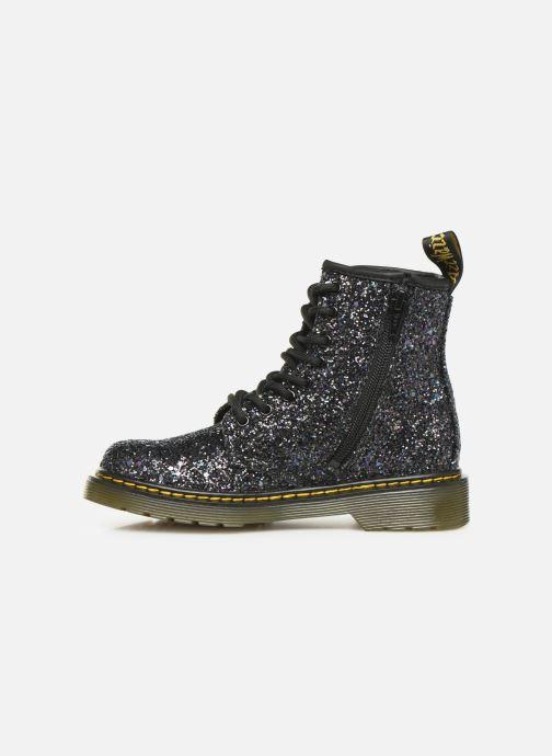 Bottines et boots Dr. Martens 1460 Glitter J Noir vue face