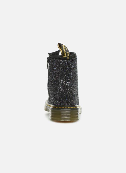 Bottines et boots Dr. Martens 1460 Glitter J Noir vue droite