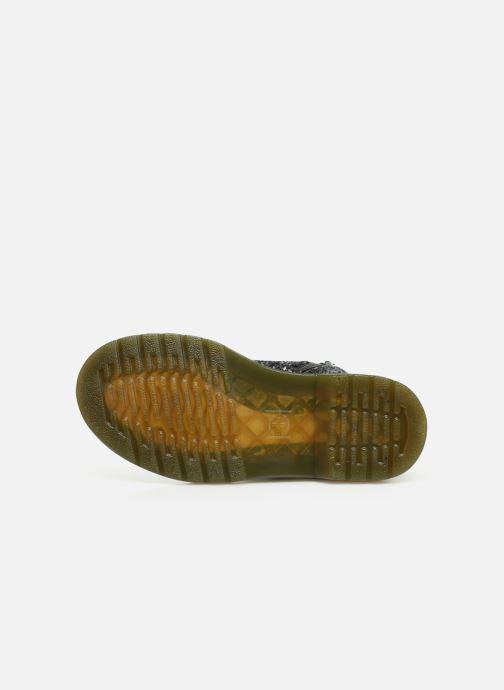 Bottines et boots Dr. Martens 1460 Glitter J Noir vue haut