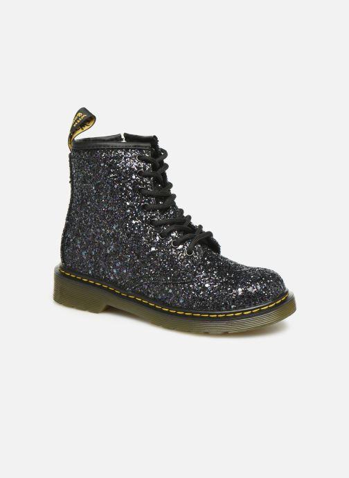Bottines et boots Dr. Martens 1460 Glitter J Noir vue détail/paire