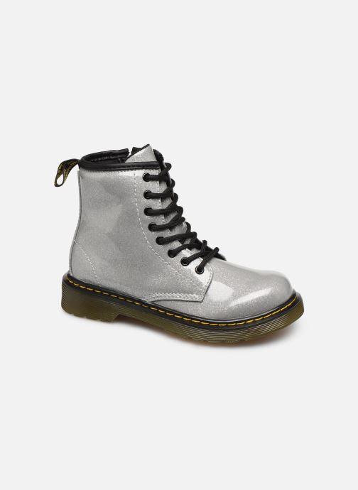 Bottines et boots Dr. Martens 1460 Glitter J Argent vue détail/paire