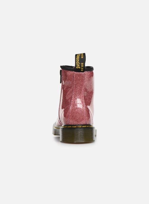 Stiefeletten & Boots Dr. Martens 1460 Glitter J rosa ansicht von rechts