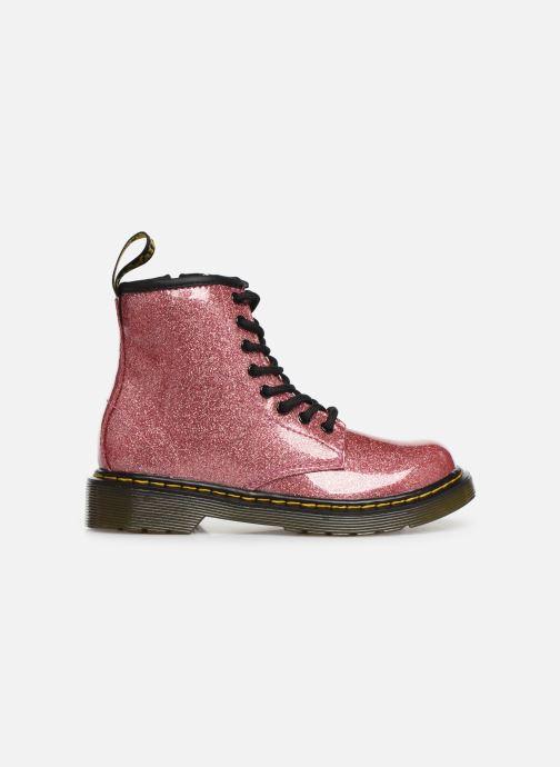Bottines et boots Dr. Martens 1460 Glitter J Rose vue derrière