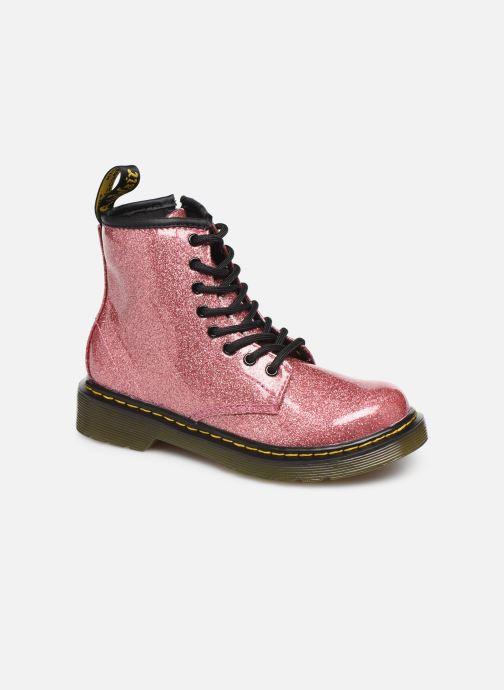 Bottines et boots Dr. Martens 1460 Glitter J Rose vue détail/paire