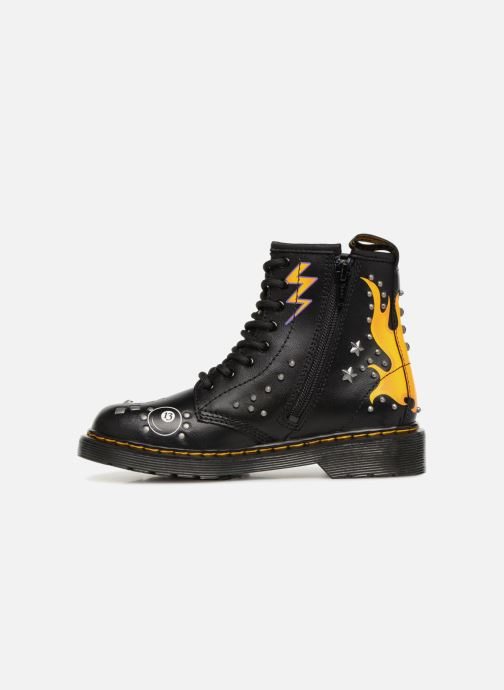 Ankle boots DR. Martens 1460 Patch+Stud Y Black front view