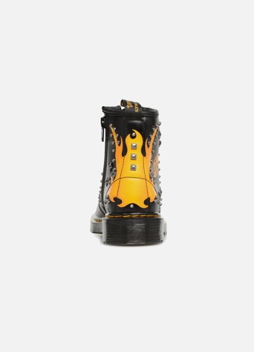 Ankle boots DR. Martens 1460 Patch+Stud Y Black view from the right