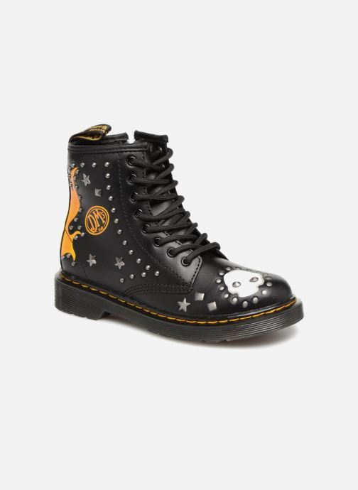 Ankle boots DR. Martens 1460 Patch+Stud Y Black detailed view/ Pair view