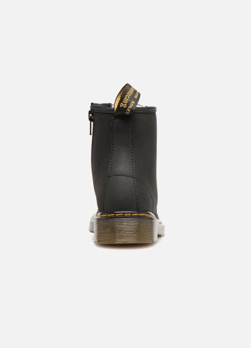 Bottines et boots Dr. Martens 1460 Serena J Warm Noir vue droite