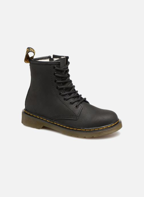 Ankle boots DR. Martens 1460 Serena J Black detailed view/ Pair view