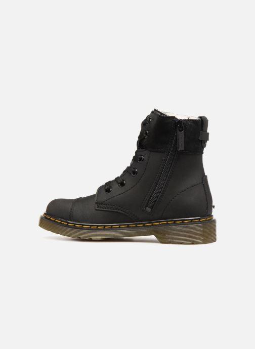 Bottines et boots Dr. Martens Aimilita J Noir vue face
