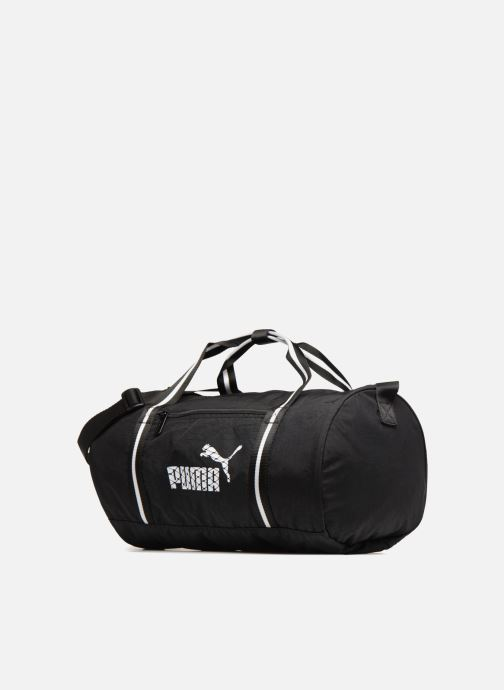 Bolsas de deporte Puma WMN CORE BARREL BAG Negro vista del modelo