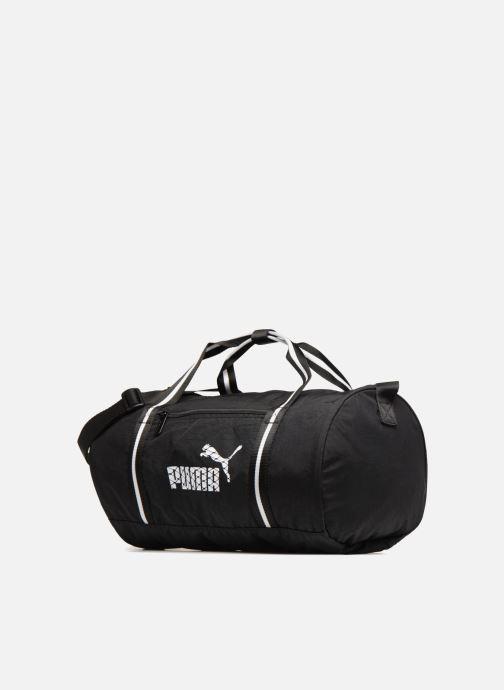 Sacs de sport Puma WMN CORE BARREL BAG Noir vue portées chaussures