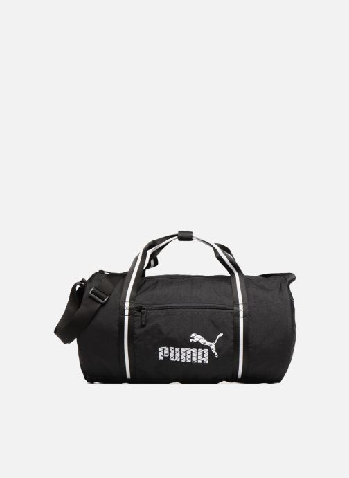 Bolsas de deporte Puma WMN CORE BARREL BAG Negro vista de detalle / par