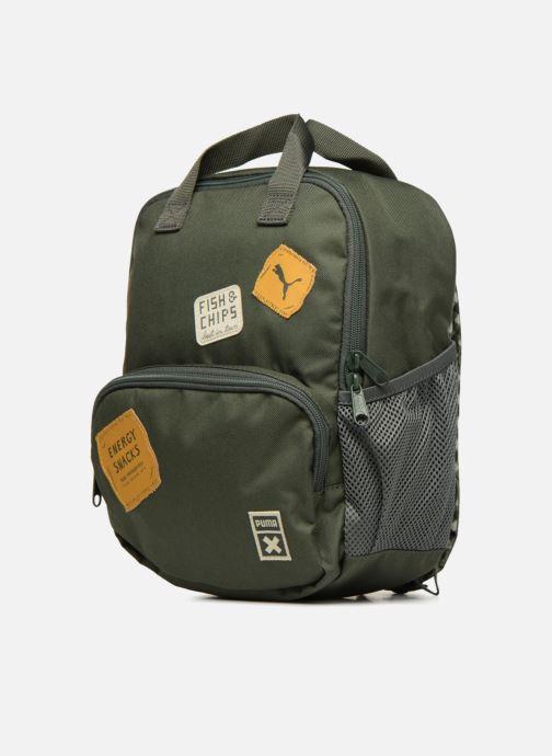 Schulzubehör Puma PUMA x Tiny Cotton Backpack grün schuhe getragen