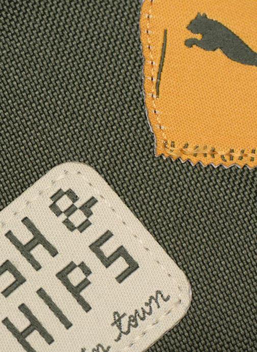 Schulzubehör Puma PUMA x Tiny Cotton Backpack grün ansicht von links