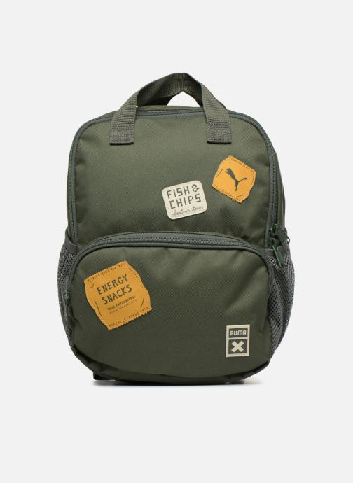 School bags Puma PUMA x Tiny Cotton Backpack Green detailed view/ Pair view