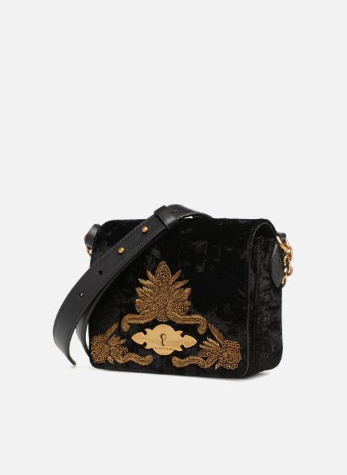 Sacs à main Polo Ralph Lauren BROOK CHAIN CROSSBODY S Noir vue portées chaussures