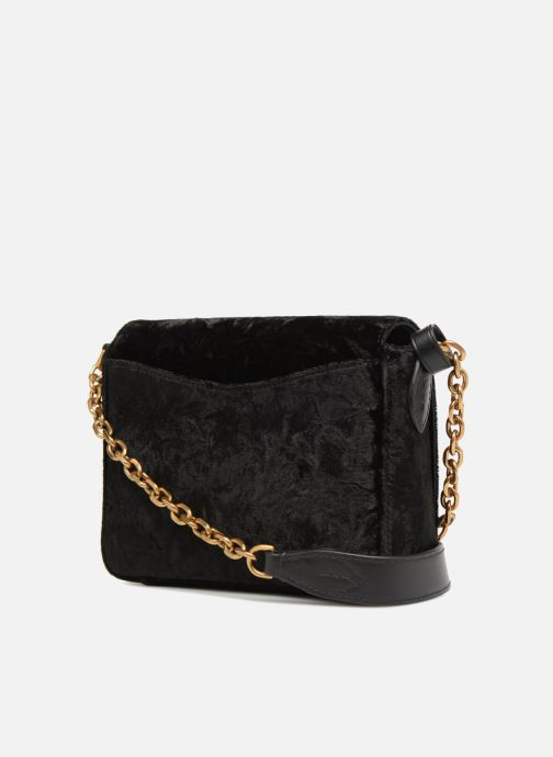 Sacs à main Polo Ralph Lauren BROOK CHAIN CROSSBODY S Noir vue droite