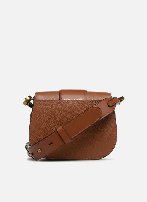 Handtassen Polo Ralph Lauren LENNOX BELT SADDLE Bruin voorkant