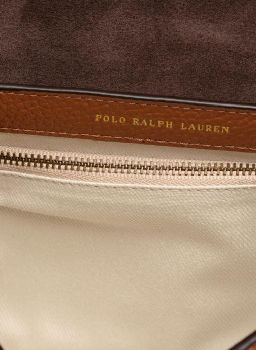 Handtassen Polo Ralph Lauren LENNOX BELT SADDLE Bruin achterkant