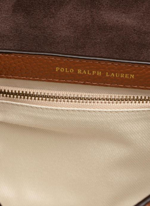 Sacs à main Polo Ralph Lauren LENNOX BELT SADDLE Marron vue derrière
