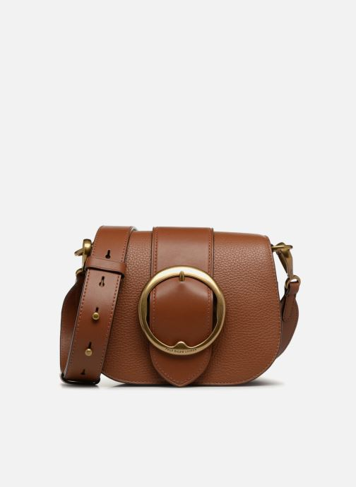 Sacs à main Polo Ralph Lauren LENNOX BELT SADDLE Marron vue détail/paire